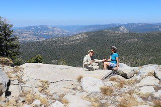 1100 Posed shot on a ridge above the Tahoe-Yosemite Trail with a view north toward Rockbound Valley | by _JFR_