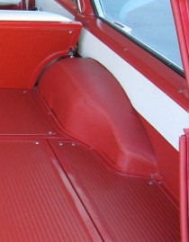 red 58 - load floor and quarter trim area   by 2manycars2littletime