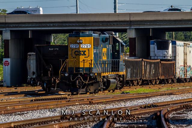 CSX 2791   EMD GP38-2   CSX Taft Yard