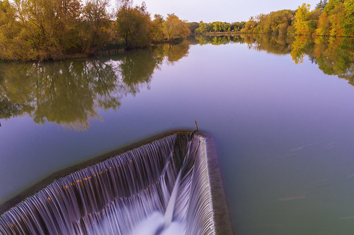 2014 canada garypaakkonen paakkonen photography autumn colors colours fall longexposure reflectiond river sunset trees water