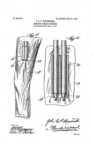 miners_candleholder_patent_859277 | by buler2008