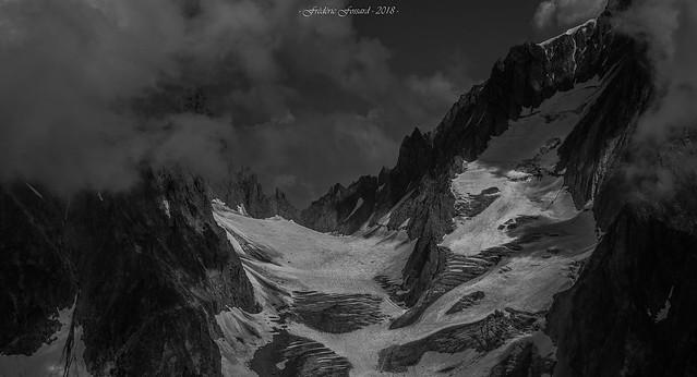 Éclaircie au Col du Chardonnet