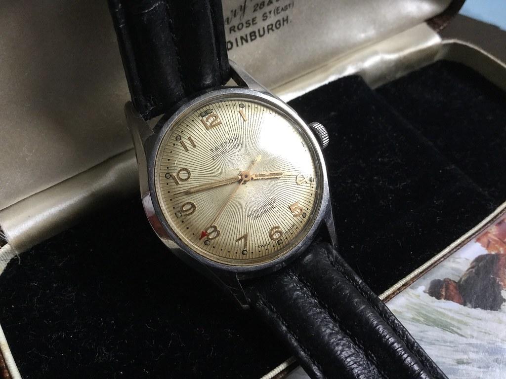 Tattoo wristwatch