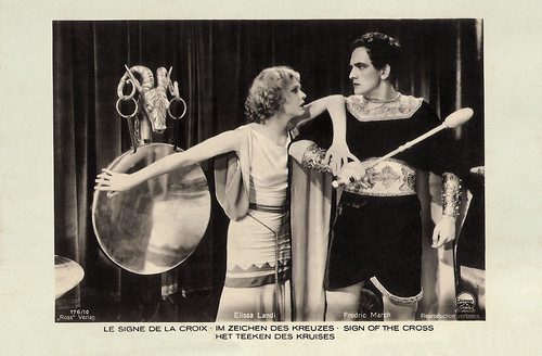 Elissa Landi and Frederic March in The Sign of the Cross (1932)