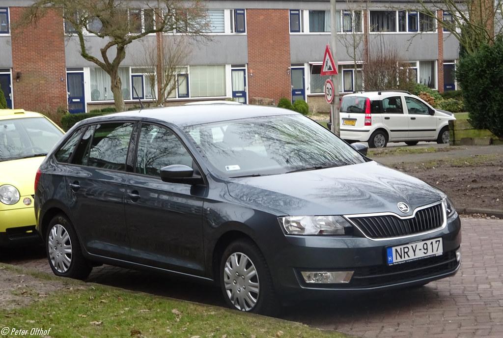 Škoda Rapid from Hungary