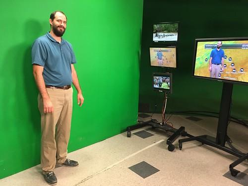 Video Production Trip to WBTV   Gaston Christian School