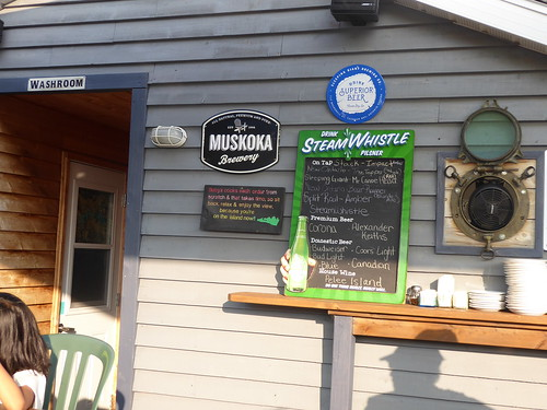 buoyseatery buoys restaurant patio signs signage gorebay manitoulin island ontario summer relax