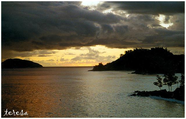 Port Glaud (Mahé-Seychelles)