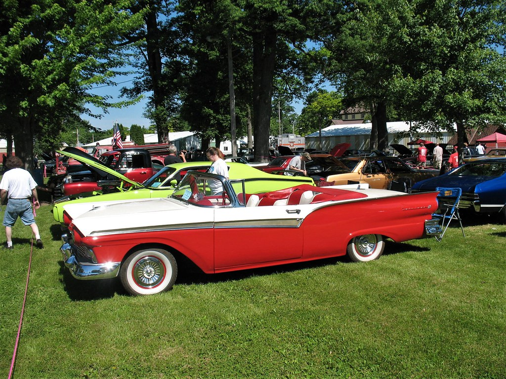 My '57 Sunliner At Sandwich
