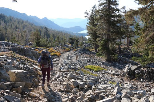 3164 The Pacific Crest Trail is a rocky trail most of the way downhill to Echo Lake | by _JFR_