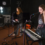 Wed, 12/09/2018 - 10:28am - Let's Eat Grandma Live in Studio A, 9/12/2018 Photographer: Jake Lee