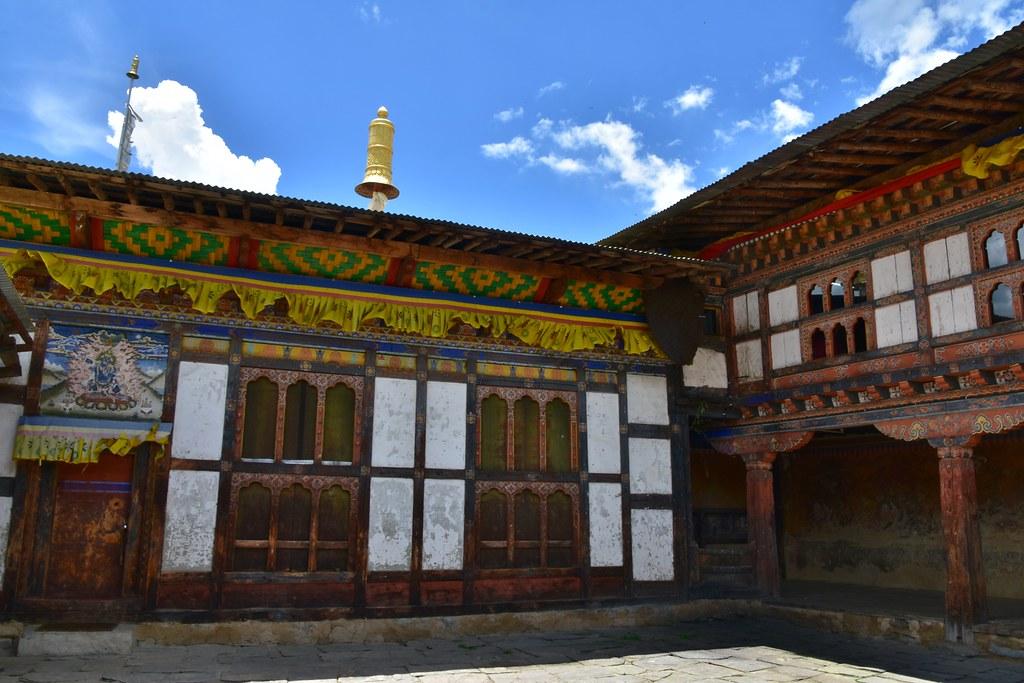 Interior of Tamshing Lhakhang