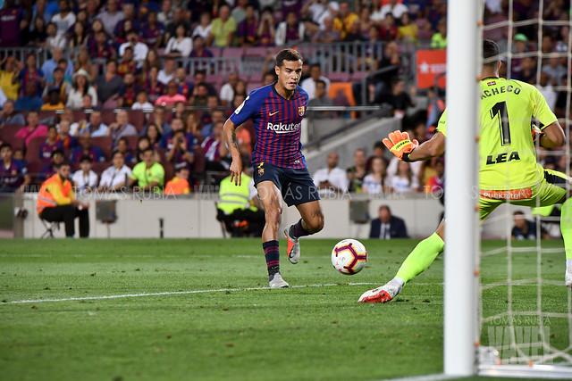 Philippe Coutinho contra el Deportivo Alavés | Foto de Noelia Déniz, VAVEL