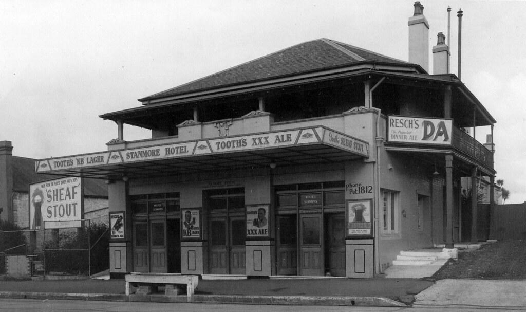 Stanmore Hotel, now Newington Hotel, Petersham, Sydney, NSW.