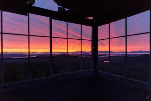 firetower mountwashington sunrise