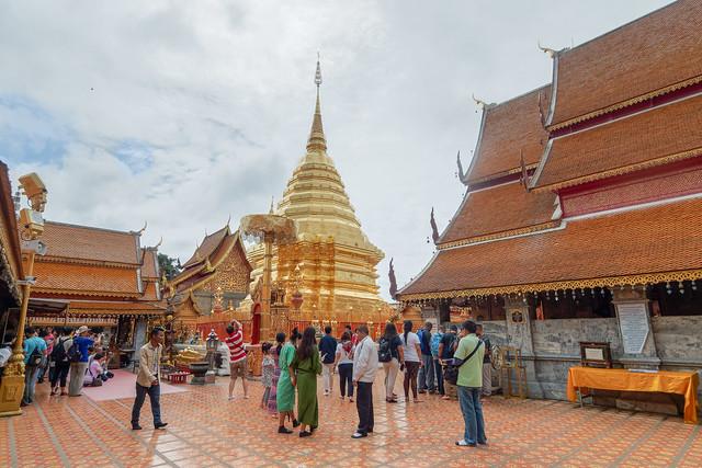 Wat Phrathat Doi Suthep .. Chiang Mai