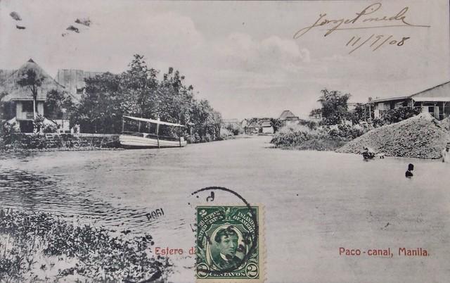 Estero de Paco. November 1908