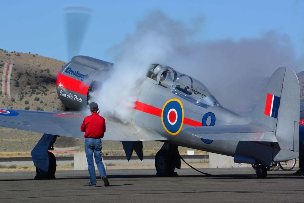 Reno Air Races 2018 - Hawker Sea Fury T Mk 20
