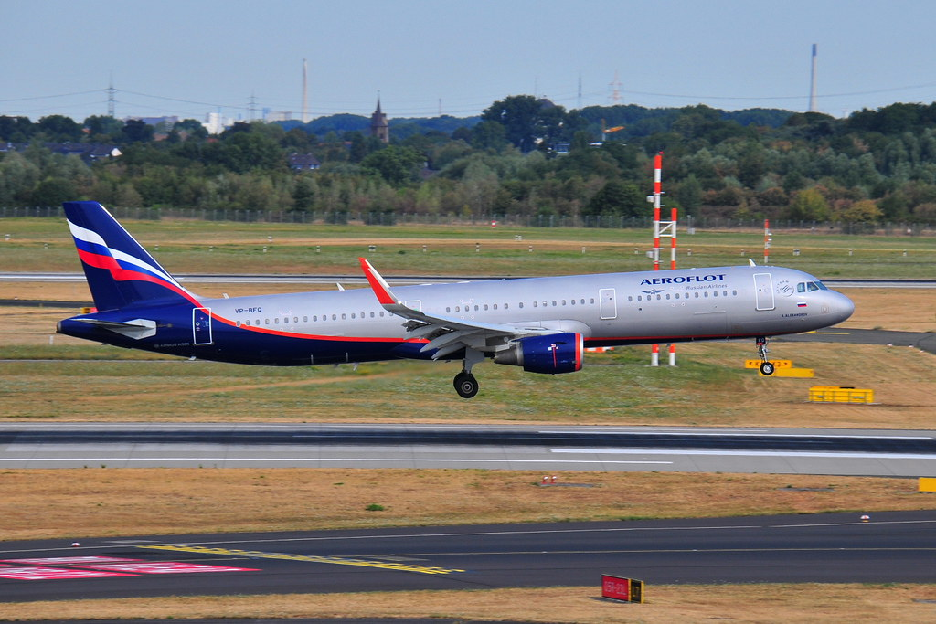 VP-BFQ A321-211 Aeroflot
