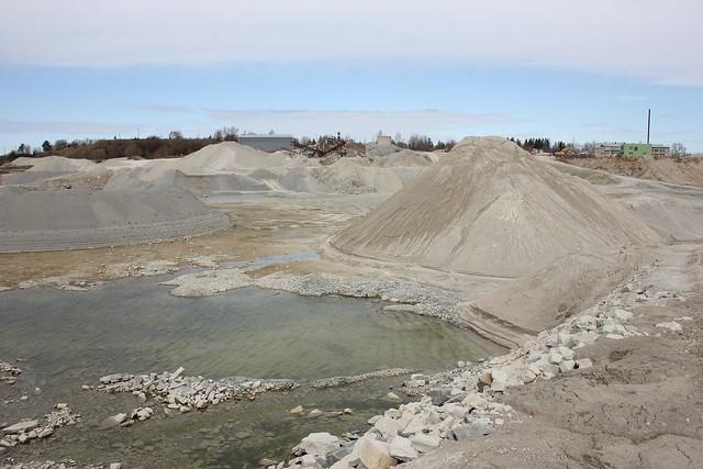 Anelema dolokivikarjäär / Anelema dolostone quarry, Estonia