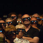 Audience enjoying 3D event with Brian May | © Alan McCredie