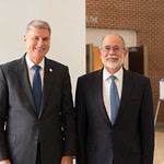 Ju, 09/20/2018 - 13:26 - On Thursday, September 20, 2018, the William J. Perry Center for Hemispheric Defense Studies honored General Salvador Cienfuegos Zepeda, Secretary of National Defense of Mexico, and Escola Superior de Guerra (ESG), National War College of Brazil, with the 2018 William J. Perry Award for Excellence in Security and Defense Education. Named after the Center's founder, former U.S. Secretary of Defense Dr. William J. Perry, the Perry Award is presented annually to individuals who and institutions that have made significant contributions in the fields of security and defense education. From the many nominations received, awardees are selected for achievements in promoting education, research, and knowledge-sharing in defense and security issues in the Western Hemisphere. Awardees' contributions to their respective fields further democratic security and defense in the Americas and, in so doing, embody the highest ideals of the Center and the values embodied by the Perry Award.