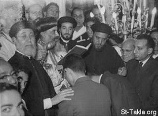 المقدس يوسف حبيب يوم رسامة القمص بيشوي كامل