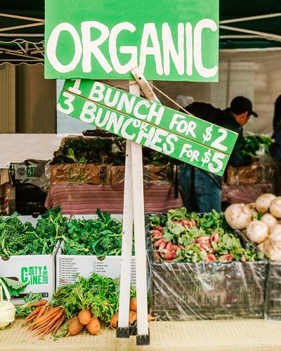 Organic - Vegetables at Farmers Market | by ella.o