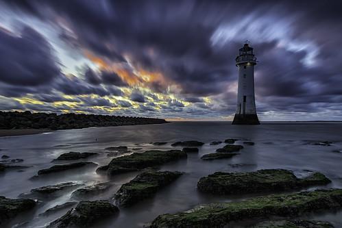 clouds formatthitechfirecrest fortperchrock sunset longexposure newbrighton landscape seascape lighthouse