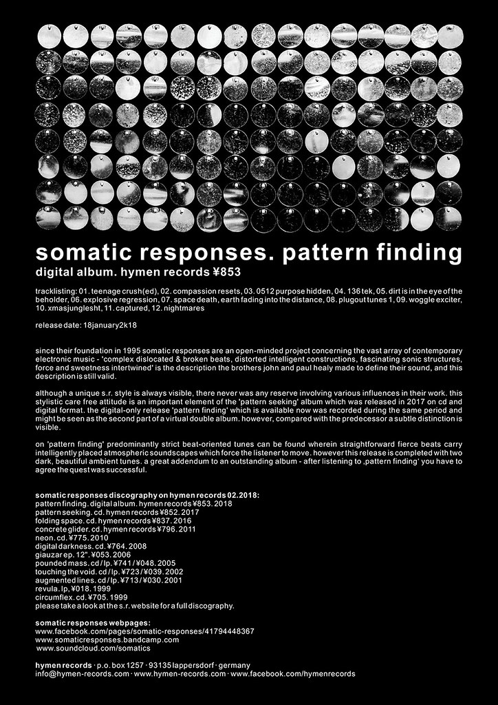 853  somatic responses  pattern finding   ¥853  somatic res