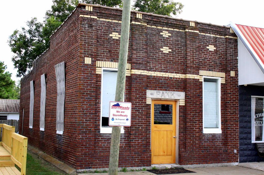 Farmers and Merchants Bank - Ethridge, TN | This old bank bu