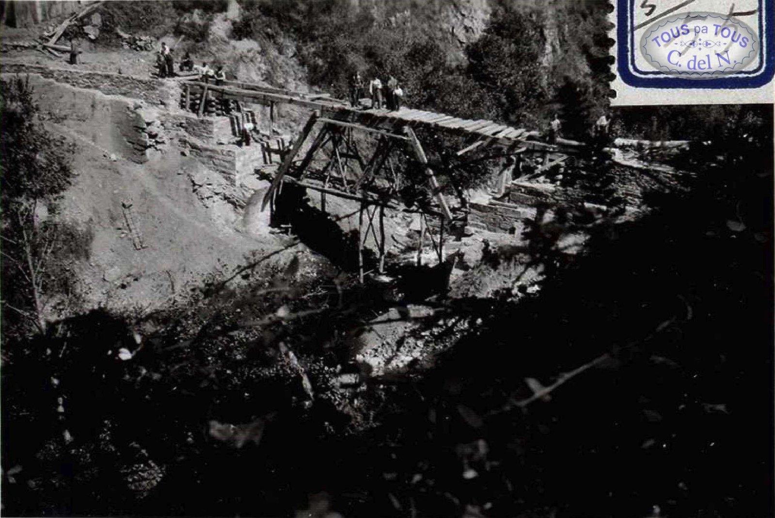 1937 - Reconstrucción puente