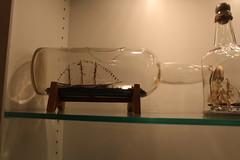 Ship in a Bottle Exhibit