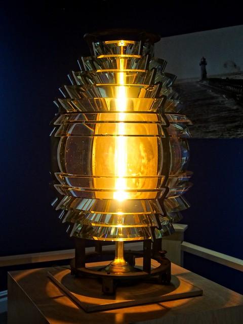St. Joseph North Pier Inner Lighthouse Fresnel Lens