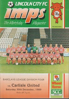 Lincoln City 30-12-89 | by cumbriangroundhopper