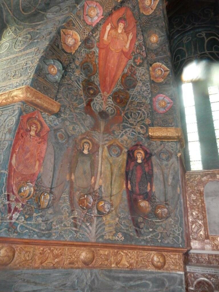 Inside Wanborough to Godalming Watts Chapel