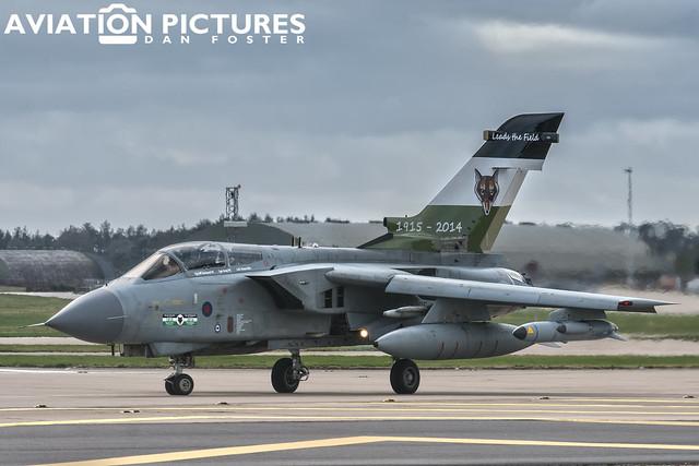 Panavia Tornado GR4 ZA395