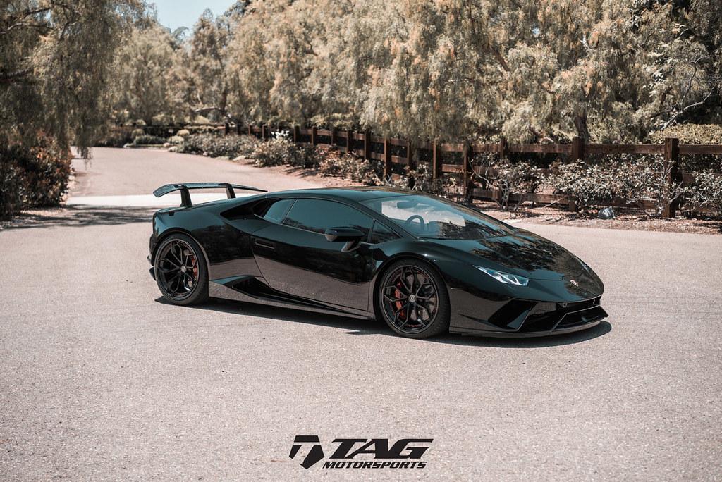 Lamborghini Huracan Performante On Hre S201 In Satin Black Flickr