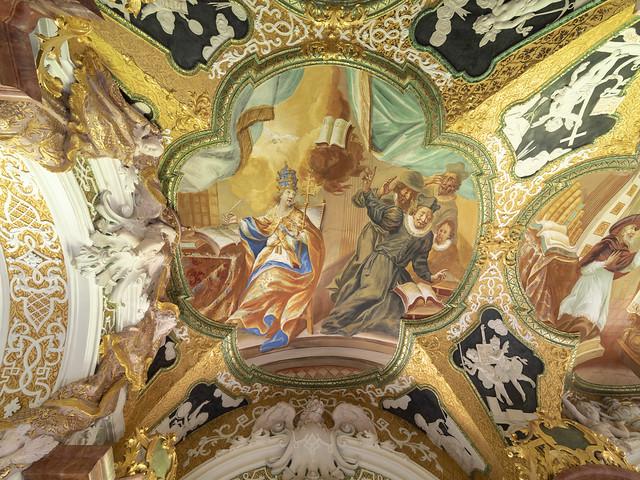 Bibliothek Kloster Metten III