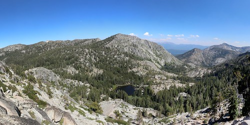 1288 Panorama looking east from the Tahoe-Yosemite Trail with the Grouse Lakes below us | by _JFR_