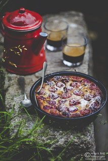 Cherry_Clafoutis-by Meeta K. Wolff-0290 | by Meeta Wolff @ What's For Lunch, Honey?