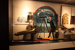 Officer's of the Watch - Telescopes, 'The Navigator' Pub Sign, Captain's Trumpet