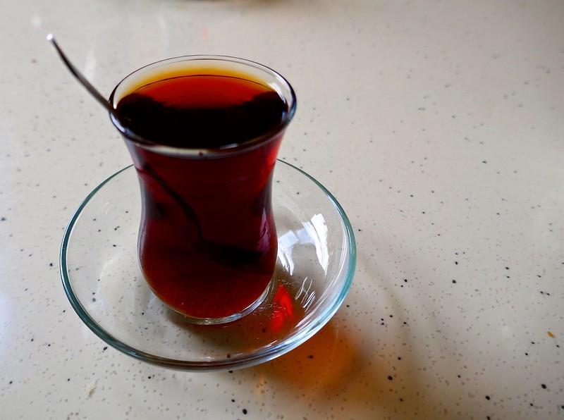 Turkish tea, Skopje