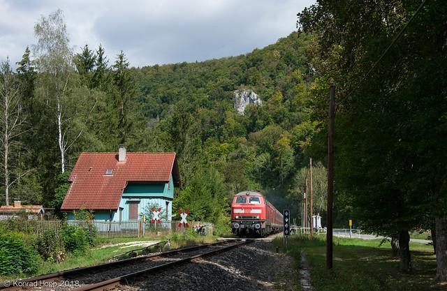 218 417 - Donautäler Radexpress