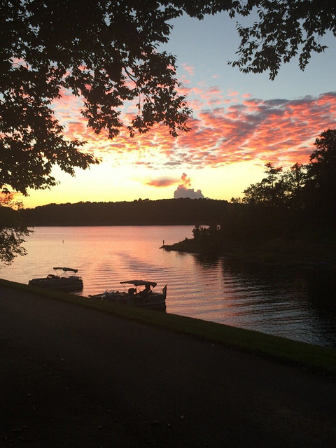 Sunset at Barren River Lake