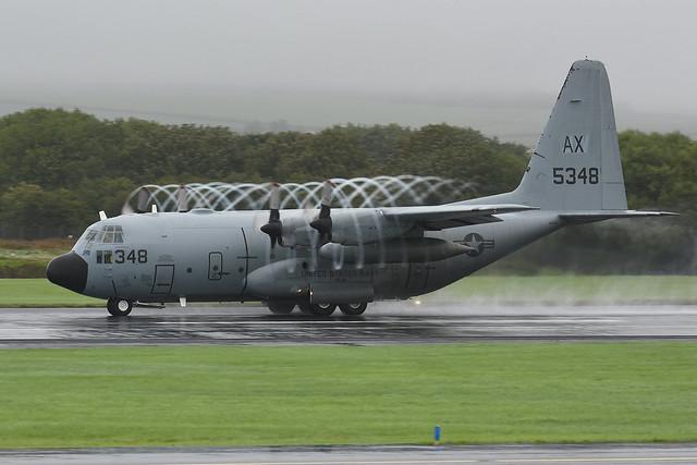 165348 Lockheed C130T Hercules EGPK 18-08-18