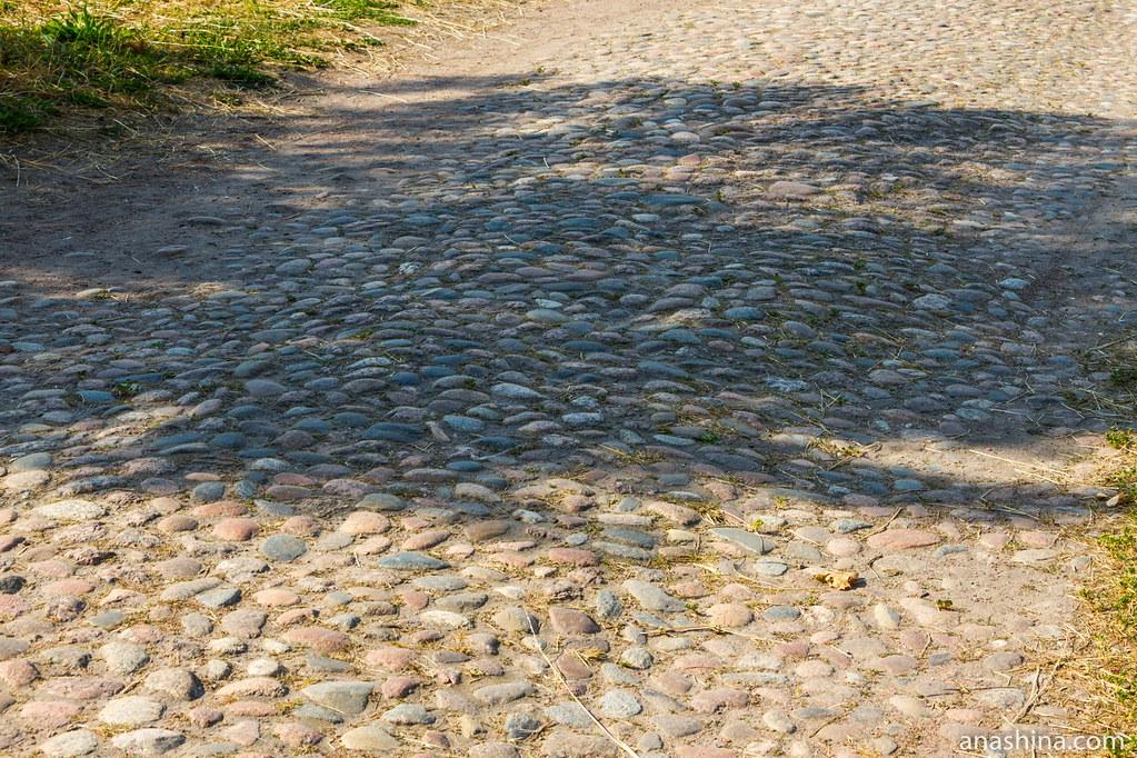 Анненские укрепления, Центральный равелин, Выборг, дорога