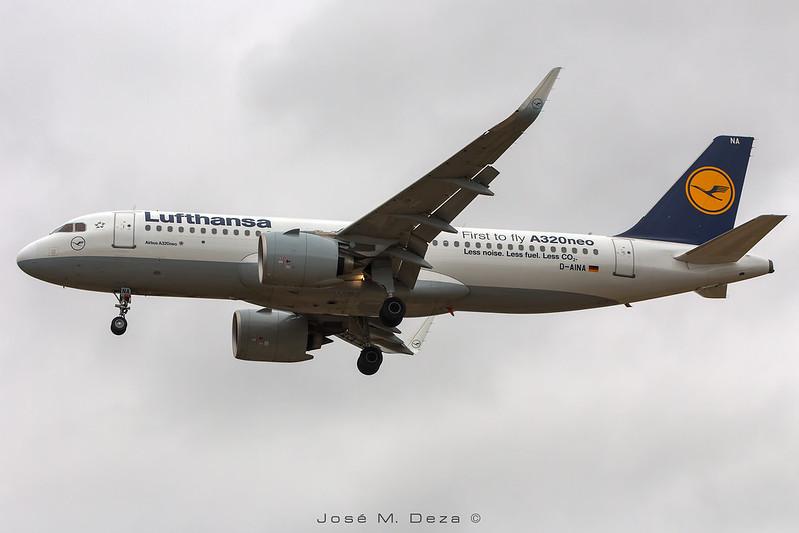 Lufthansa A320-271N D-AINA