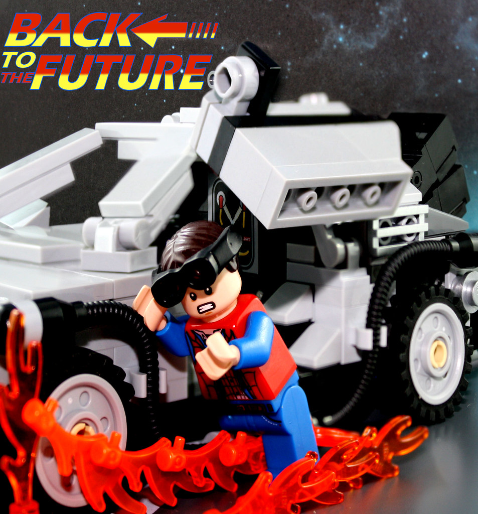 Lego Back To The Future Poster Remake | I've been wanting to
