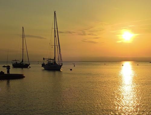 francia amanecer mediterráneo mar colliure antoniomachado